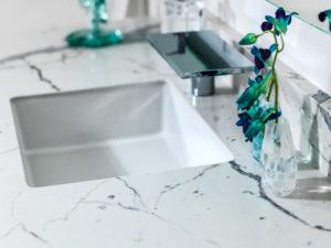 Granite Around Bathroom Sink