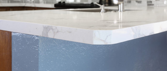 Edge of Granite Countertop