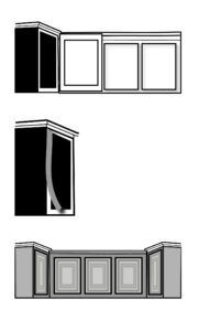 Cabinet Refacing Diagram